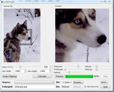 image enlarger enlarge lower resolution photos while keeping quality intact