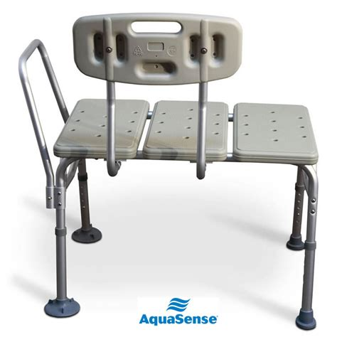 aquasense transfer bench aquasense blow molded transfer bench with reversible