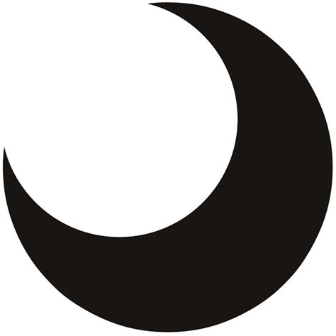 crescent moon clipart crescent moon clip cliparts