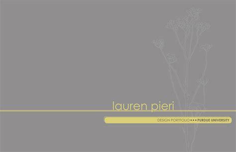 Resume Cover Sheet Examples by Purdue Interior Design Portfolio Lauren Pieri Archinect