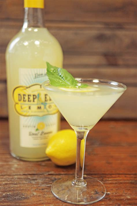 martini basil refreshing recipes from deep eddy vodka insane for drinks