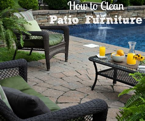 How To Clean Outdoor Furniture Cushions by How To Clean Outdoor Patio Furniture Install It Direct