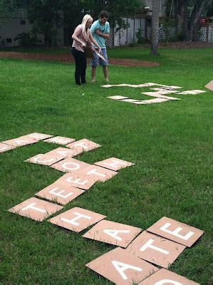 diy backyard scrabble 9 diy giant games tutorials tip junkie