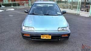 1988 honda civic hatchback bone stock with every single