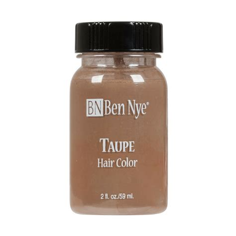 taupe hair color pictures ben nye liquid hair color taupe 2oz frends beauty supply