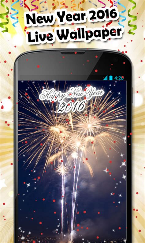 new year live wallpaper new year 2016 live wallpaper and install android