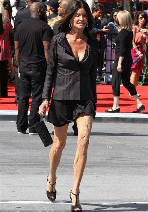 Janice Dickinson On Anorexia And Weight Loss by Lesquelles De Ces 14 Photos De Montrent Le Plus Que