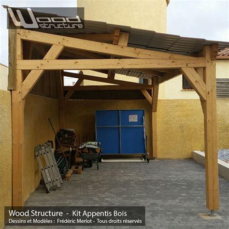 Appentis 1 Pan L Wood Structure