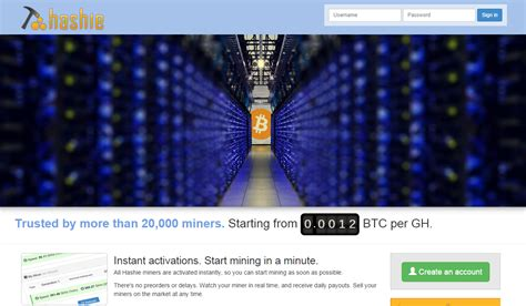 Bitcoin Mining Cloud Computing by Trying Out The Hashie Bitcoin Cloud Mining Service