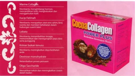 Cocoa Collagen amoi heaxa new packaging cocoa collagen power plus