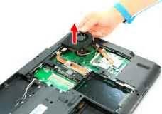 Fan Acer Travelmate 6293 removing the heatsink fan module acer travelmate 7720 7320