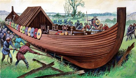 cowboy viking deluxe trade paperback viking ship by jackson at the illustration