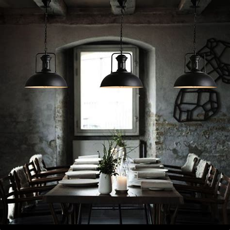 beleuchtung retro loft rh industrial warehouse pendant lights american