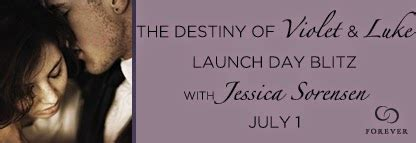 The Destiny Of Violet Luke bookhounds ya june 2014