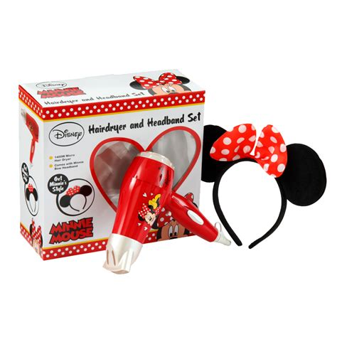 Minnie Mouse Hair Dryer disney minnie mouse hair dryer headband set ebay