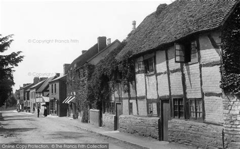 Cottage Of Content Bidford by Framed Photo Print Of Bidford On Avon Cottages 1899