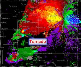 Doppler Radar Tornadoes May 10th 2008