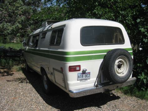 dodge  xplorer camper van rv classic dodge    sale
