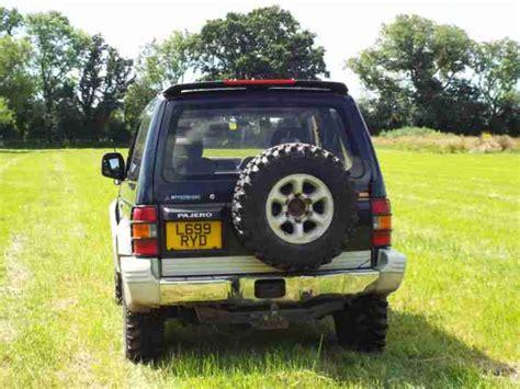 mitsubishi pajero spares mitsubishi pajero spares or repairs car for sale
