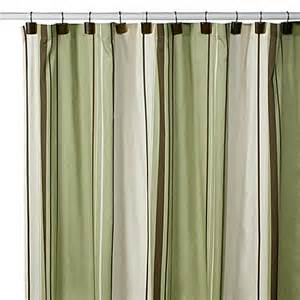 Shower Curtains Bed Bath Beyond west end green 54 inch x 78 inch stall shower curtain