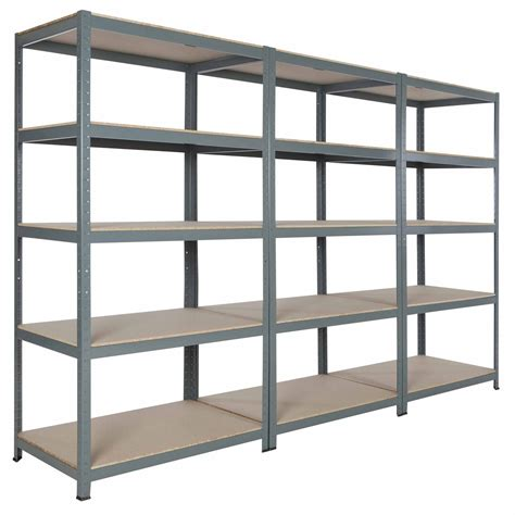 steel metal garage commercial storage shelving 71 quot hx36 quot wx24 quot d with 5 shelves ebay