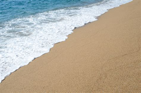 Sea Of Sand sea and sand free stock photo domain pictures