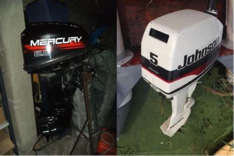 johnson buitenboordmotor 2 5 pk 5pk johnson 8pk mercury tweetakt kortstaart los of samen