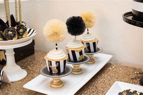 Simple Balloon Decoration Ideas At Home by Black Amp Gold Christmas Party Lillian Hope Designs