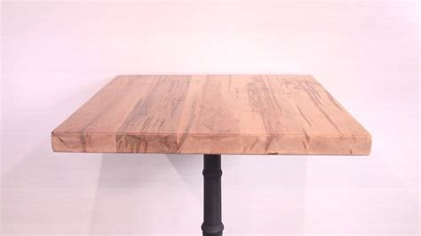 furniture sharp solid maple table tops wood top dining solid wood rustic maple restaurant table tops youtube
