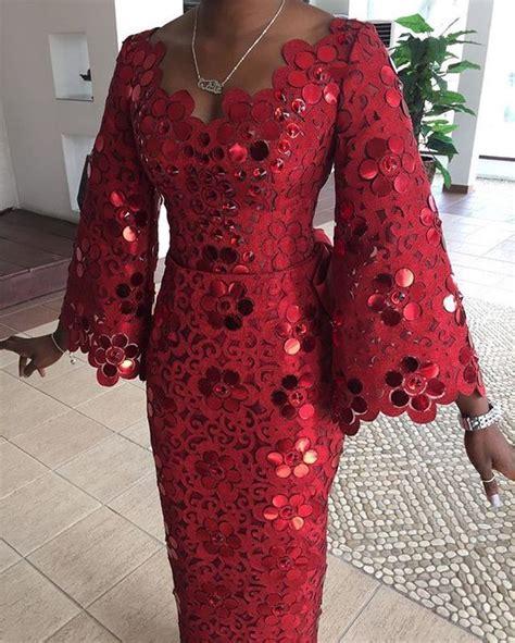 nigerian iro and buba styles komole iro and buba in embellished daisy swirl motif