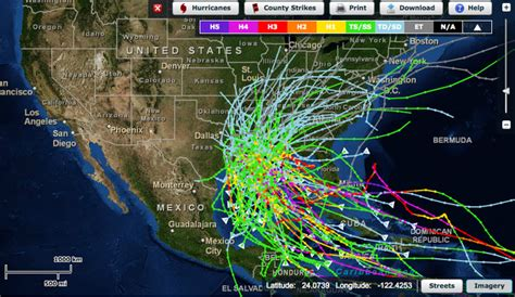 us hurricane history map incidence of storms why when what you need to
