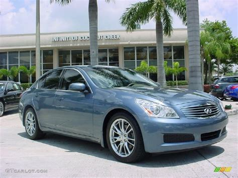 infinity car blue 2008 lakeshore slate light blue infiniti g 35 sedan