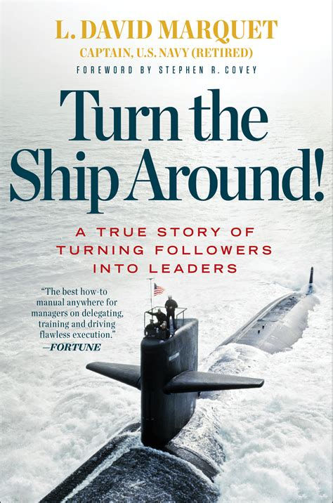 this is a table of the chapters in turn the ship around david marquet