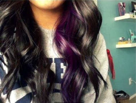 how to darken hair underneath 17 best ideas about purple underneath hair on pinterest