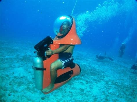 water scooter mexico cozumel mini sub underwater scooter excursion