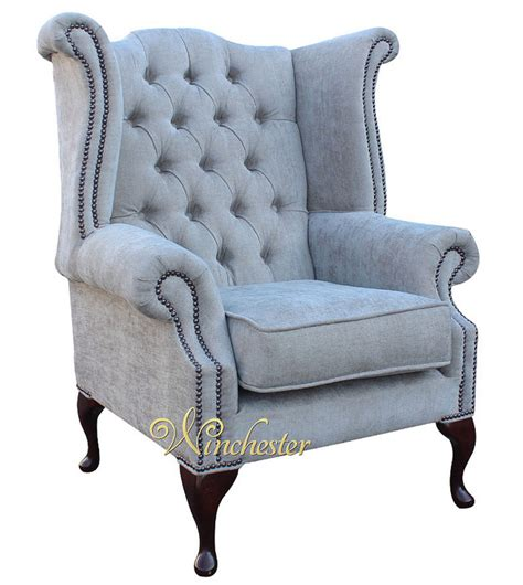 traditional fabric high back sofas chesterfield fabric queen anne high back wing chair perla