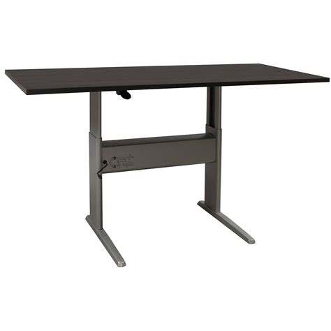 Ergotech Used 30 215 60 Adjustable Height Table National Used Adjustable Height Desk