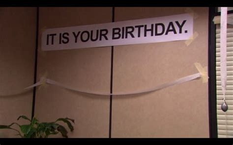 Dwight Schrute It Is Your Birthday Card To Be Mrs Collier My Quot The Office Quot Birthday Party