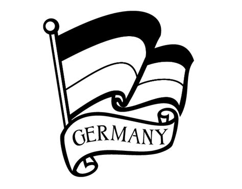 flag of germany coloring page coloringcrew com