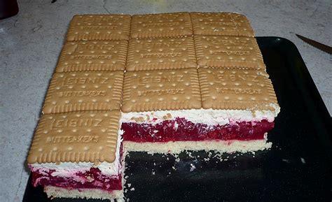 himbeer keks kuchen butterkeks himbeer kuchen melone80 chefkoch de