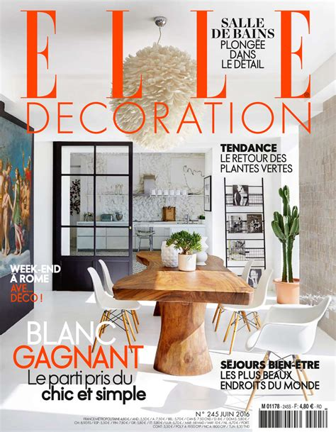 Magazine Decoration Maison by Maison De Vacances D 233 Coration Blanche Une Maison De