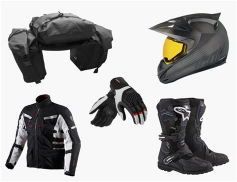 motorcycle riding accessories essential gear for adventure motorcycle riders gear patrol