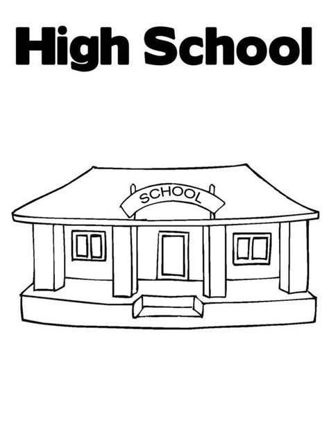High School Guy Coloring Pages High School Coloring Pages