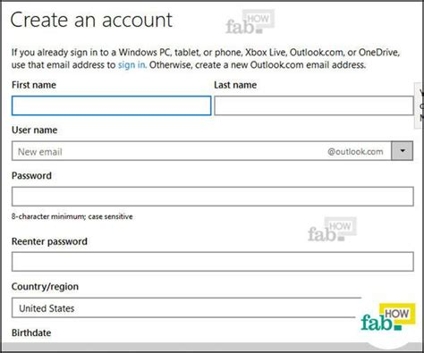 outlook sign in to your microsoft account how to make a hotmail or outlook email account in no time