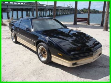 1986 pontiac firebird trans am id 2462 sell used 1986 trans am used 5l v8 16v in sarasota florida united states for us 6 995 00
