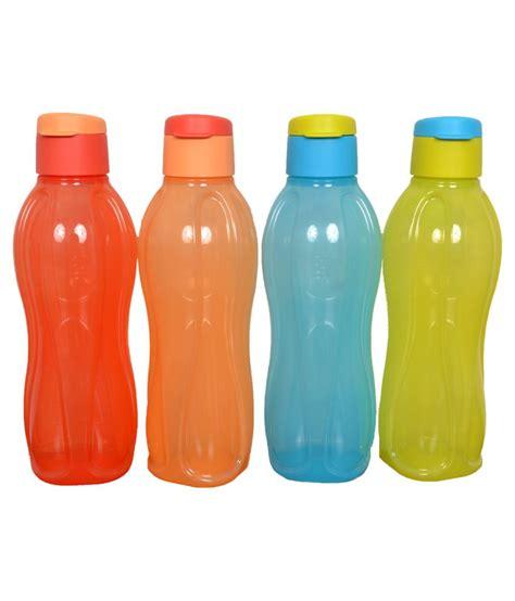 Botol Tupperware 1 Ltr tupperware fliptop 1 litre water bottles set of 4 buy at best price in india snapdeal