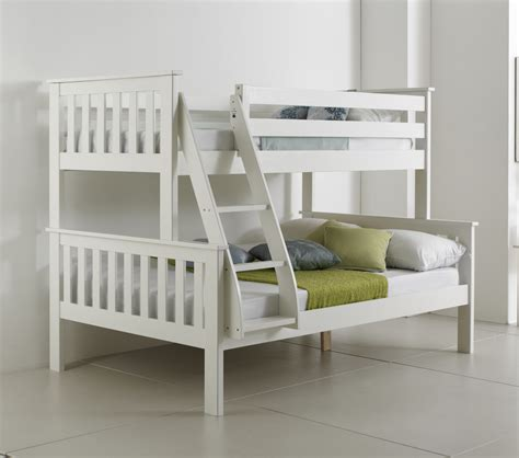 Bunk Beds For Three Sleepers Betternowm Co Uk Atlantis Solid Pine Wooden Sleeper Bunk Bed With 2 X Mattresses