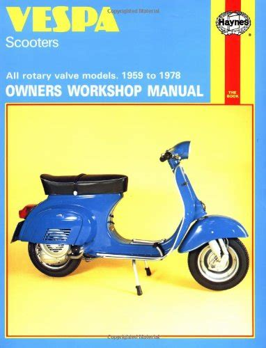 save 42 vespa scooters owners workshop manual all