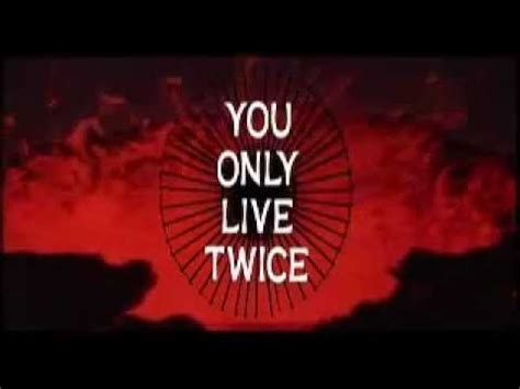 Theme Song You Only Live Twice | you only live twice theme song james bond youtube