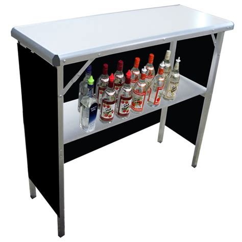 Portable High Top Bar gobar portable high top bar with 3 skirts drinkstuff